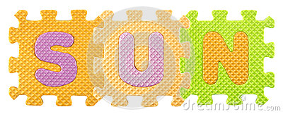alphabet-puzzle-sun-word-created-isloated-white-background-clipping-path-39269562